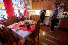 Residental house 1 - kitchen.