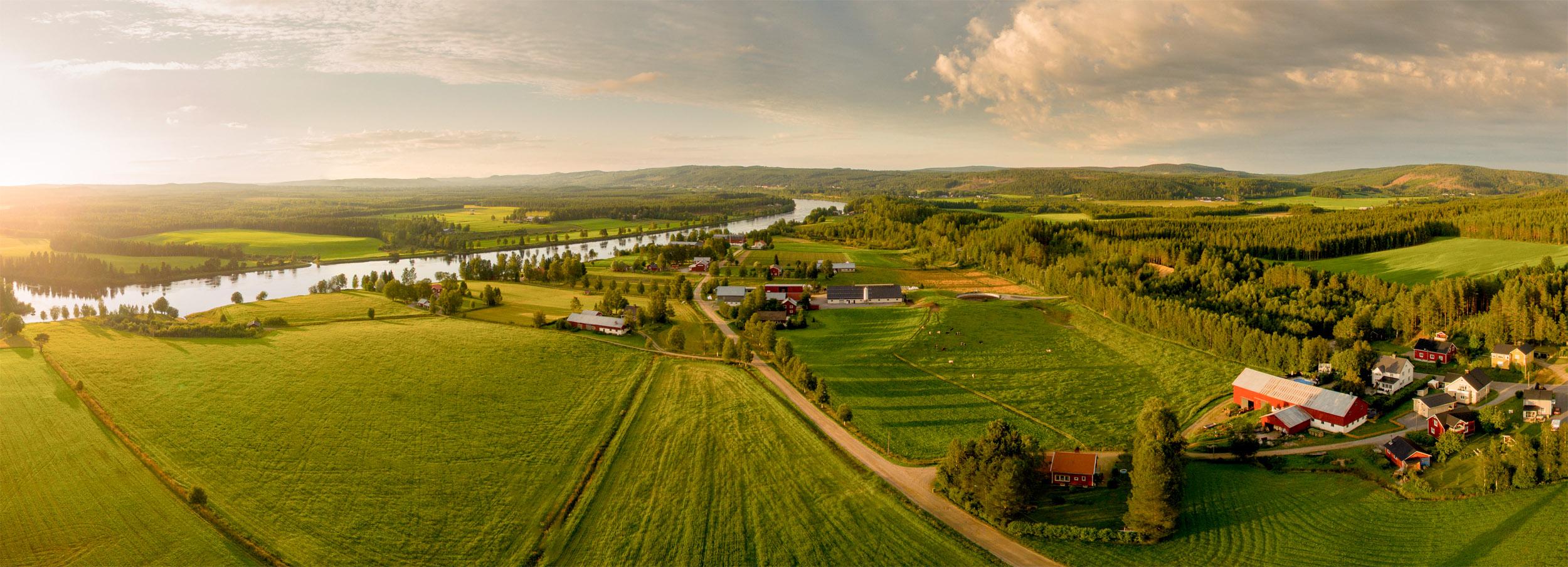 Panorama över Rödåsel